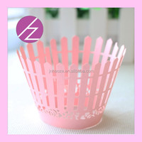 DG22 new design cupcake wrapper laser cut cupcake wrappers wholesale