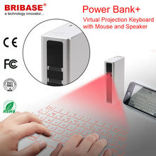 New Fashion 5200 mAH Power Bank Wireless Laser Virtual Keyboard Mouse