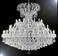 Crystal Maria theresa large hotel lampara colgant