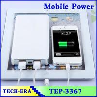Popular Dual USB Power Bank Portable Battery Charger Safety energy saving mobile power