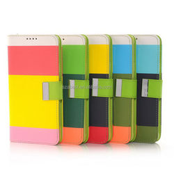 Low price hot selling for galaxy mini pu leather case