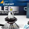 EK Smart System High Power Auto Headlamps 12v 24v H1 H7 9005 9006 H8 H11 H10 3600lm car h3 led headlight bulbs