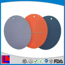 Promotional fashion customized silicone cup mat