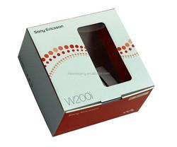 custom cell phone packaging box