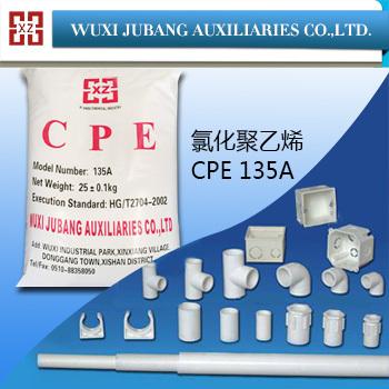 fabrik gute Verkäufe schlagzähmodifikator pvc cpe135a