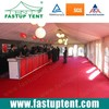 Exhibition Tent with Lining and Red Carpet