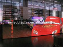 vivid image mesh led screen P12.5 led commercial advertising display screen