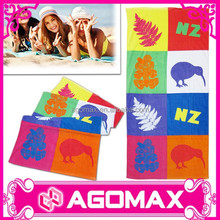 Small M.O.Q popular gift cheap promotion cotton printed home towel