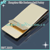 High quality gold metal money clip as gift for men