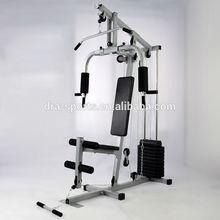 De una sola estación home gym fitness HG420 weightlift estación de peso de la pierna banco& entrenamiento del brazo de la