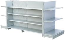 Single side/double side/end powder coated metal shelf supermarket rack dispaly shelf gondola Shelf for retailer