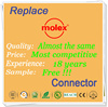 Manufacturing molex 0.8mm pitch connector with 18 years experience