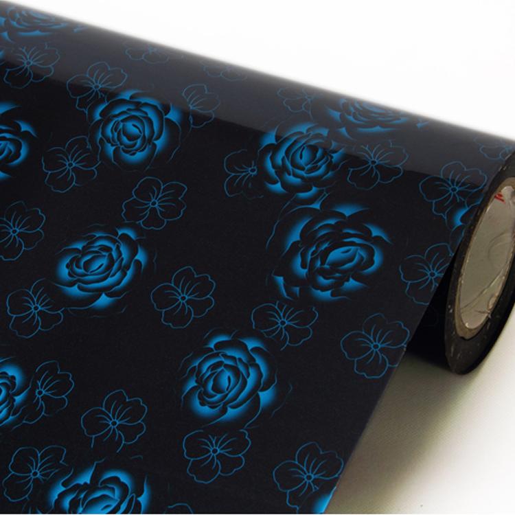 Pvc auto adh sif papier peint pour armoires de cuisine - Adhesif decoratif pour meuble ...