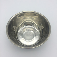 Stainless steel household item metal fruit salad bowl