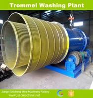 China manufacturer trommel drum gold wash alluvial mine machine