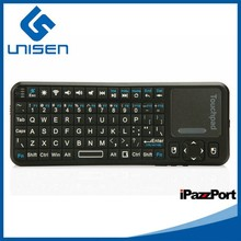 Android Wireless Touchpad Mini Bluetooth Keyboard With USB port