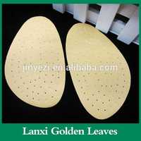 Factory sell comfatable shock absorption heel cup shoes insole soft back support cushion coffee chair