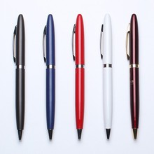 Gold tip and clip metal materials new ball pen office supplies