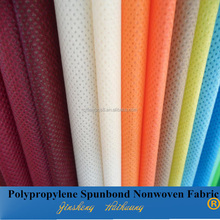 China Supplier Colorful Spunbond 100% PP Non Woven Interlining
