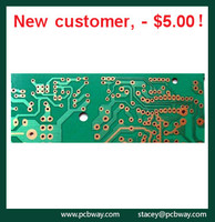FR4 double side prototype PCB and printed circuit board supplier