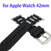 Hot Selling Deluxe Silicone and Steel Replacement Band for Apple Watch with Adapters
