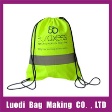 Factory wholesale reusable promotional polyester drawstring bag,nylon drawstring bag,drawstring shoe bag