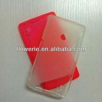 FL2205 2013 Guangzhou hot selling s line tpu soft back case for nokia lumia 520