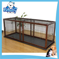 Excellent quality useful pvc coated welded pet dog cage