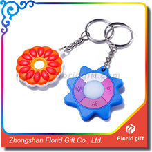 Silicone ,rubber ,soft pvc material Customize Promotional Keyring