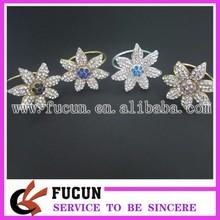 bulk wholesale flower napkin ring/christmas napkin ring