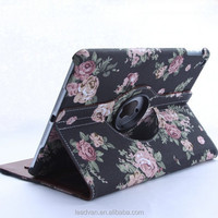 Exclusive Supply Personalize 3D Jeans Floral 360 Degree Rotating Case For Ipad Mini