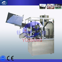 Automatic Plastic tube filling and sealing machine for paste/ cream/cosmetics/medical/ food