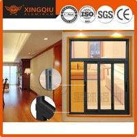 Competitive price aluminum sliding window/sliding door