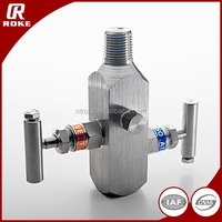 high quality stainless steel water 2 valve manifold