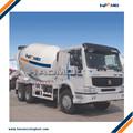 9m3 camión de hormigón