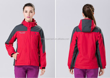 water and windproof hiking clothes women jackets