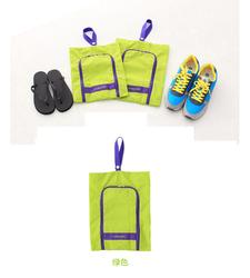 drawstring shoe travel gym bag foldable