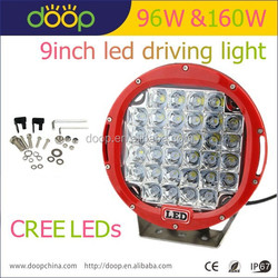2015 Newest CE RoHS Waterproof round 9'' C R E E 96w 160w 9inch led driving light