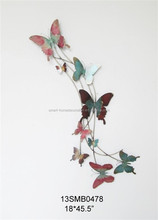 2015 Shabby Chic Vintage Wall Decorative Bufferfly Fuzhou Home Decoration