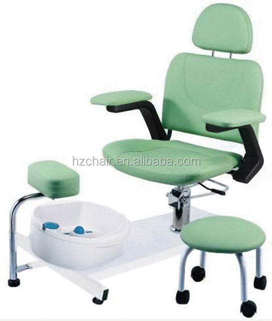 2015 primavera nuevos productos verde silla de masaje pedicura silla de pedicura identificaci n - Sillas para pedicure ...