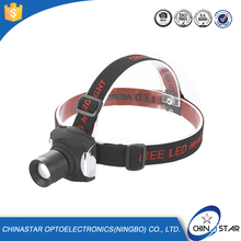 High Power Rechargeable Zoom CREE LED Headlamp, LED Head Light, Bike LED Headlight