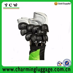 Travel custom small waterproof leather carry Sunday bag mini golf bag parts