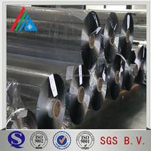 12 mic aluminium bedampfte silber pet-folie/pure metallfilm
