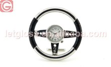 Concept zinc alloy Steering wheel shaped retro clock