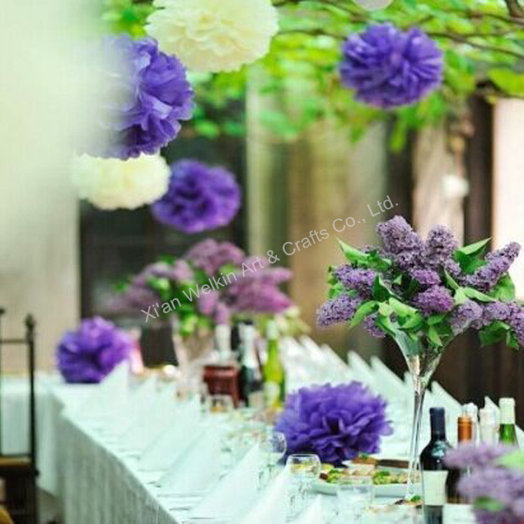 Party Decoration Paper Flowers Wedding Wall Decorations Buy Paper