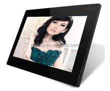 14 inch multi functional digital photo frame, led digital photo frame