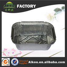 Customized full size embossed aluminum bbq tray for baking