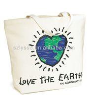 Stylish cotton canvas tote bag