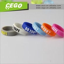 2015 Newly protection vape band for ecig,silicone vape band with factory price for custom choice