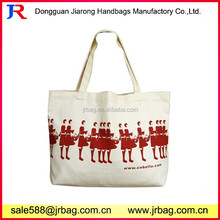 Unique Printed Promotional Natural Cotton Canvas baby Canvas diaper Bags For shopping